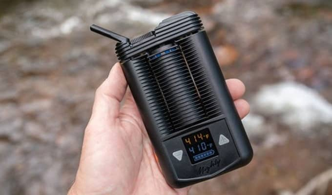 Mighty vaporizer test