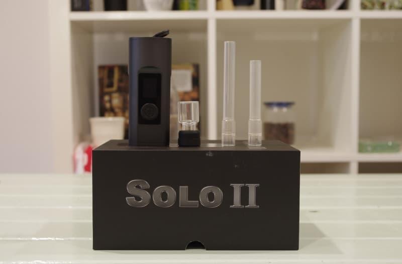 Arizer Solo 2 mit 3 mundstücke
